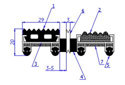 технические характеристики грязезащитного алюминиевого коврика