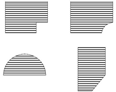 грязезащитная решетка сложной геометри