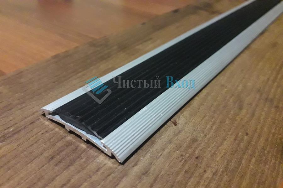 алюминиевый стык алюминиевая накладка с резиновой вставкой