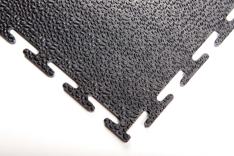 Модульная плитка пазл из ПВХ фактура капли