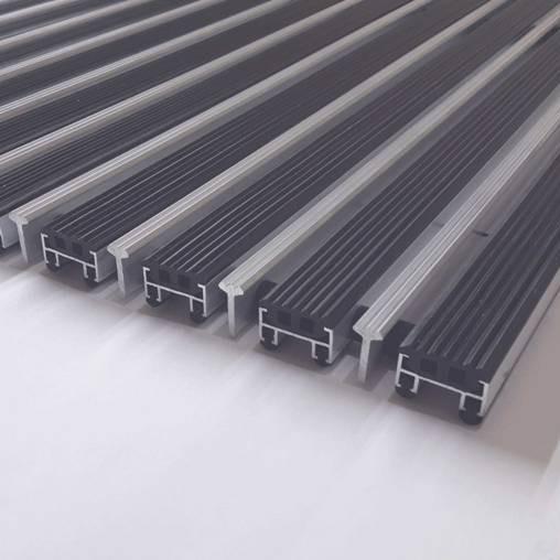 Алюминиевая решетка резина + скребок
