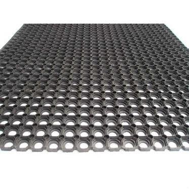 Грязезащитный резиновый ячеистый коврик 16 мм. 500х800 мм. 2