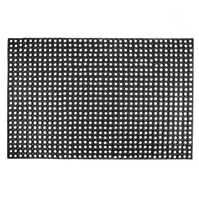 Грязезащитный резиновый ячеистый коврик 22мм. 500х1000мм.