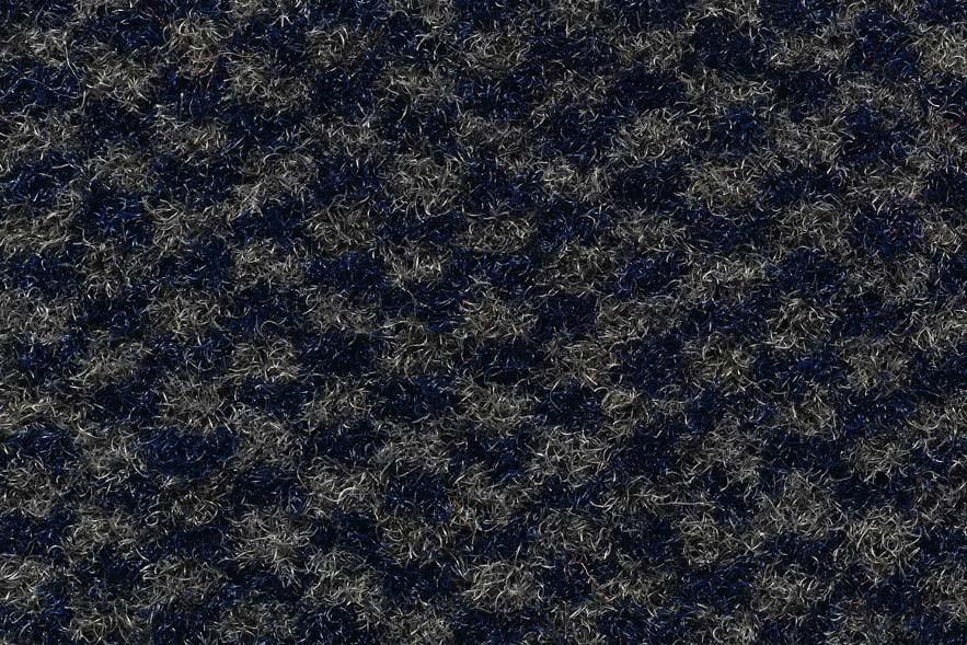 Грязезащитный ковер «Diamond» цвета Синий-Серый
