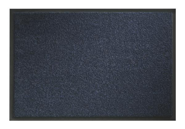 Грязезащитный ковер «Portal» Кобальт Синий цвет