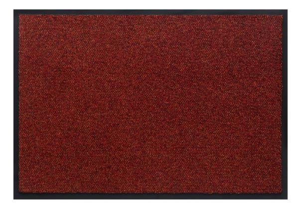 Грязезащитный ковер «Portal» Красный цвет
